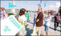 Conceyu Abiertu pola Oficialidá llevó a San Llorienzu la so  llucha pol asturianu