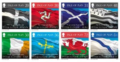 La islla de Mann saca sellos con los ocho países celtes(http://lamavea.blogspot.com/)